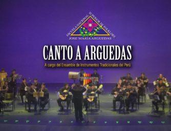 """SPOT PROMOCIONAL """"CANTO A ARGUEDAS"""""""