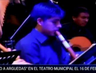 """""""CANTO A ARGUEDAS"""" EN CANAL N (PROMO)"""